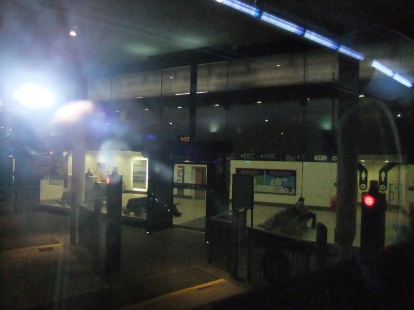 Birmngham coach station 4:50 am