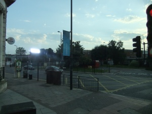 Golders Green - Olympic signs