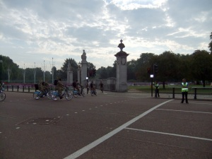 The Army on Boris bikes