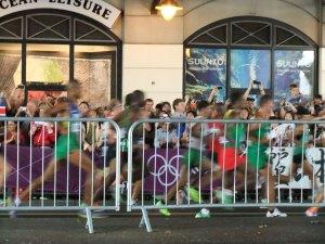 Marathon blur