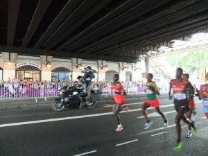 Chasers including Kiprotich