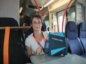 Alison the track judge