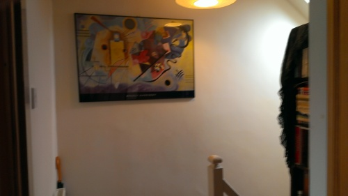 picture on the landing wall