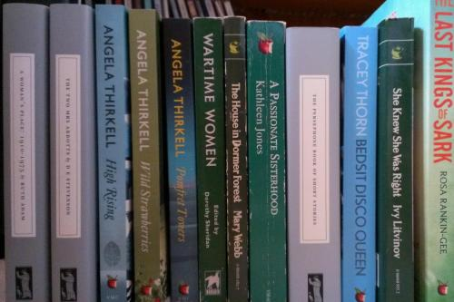 All Virago, All August - Virago and Persephone Books to read