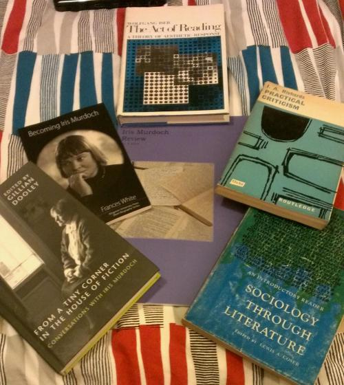 Iris Murdoch conference books