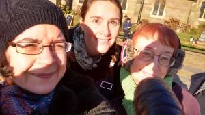 Liz, Claire, Elaine
