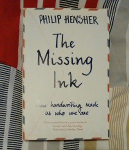 Philip Hensher The Missing Ink