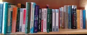 May 2015 To Be Read shelf