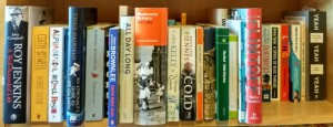 To Be Read shelf April 2016
