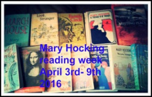 Mary Hocking Reading Week logo