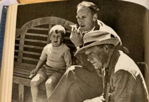 Photo of Adam, Nigel and Harold Nicolson