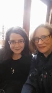 Liz and Sarah 2016