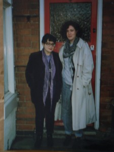 Liz and Sarah, Selly Oak, back in the day (let's say)