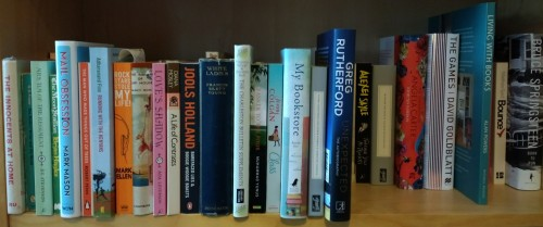 TBR shelf March 2017
