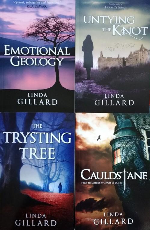 Linda Gillard four books