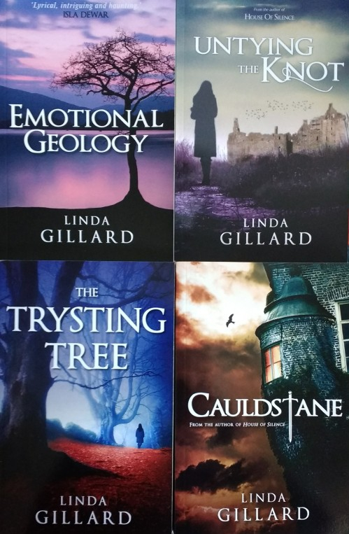 Linda Gillard four books