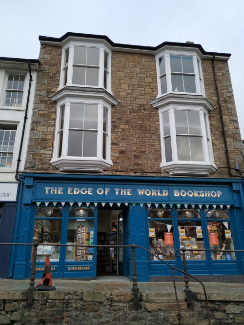 Edge of the World Bookshop Penzance, external view