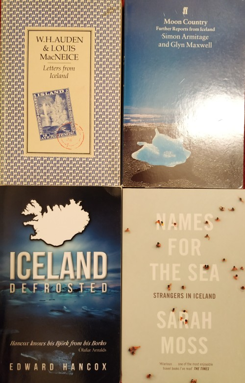 Four books on Iceland