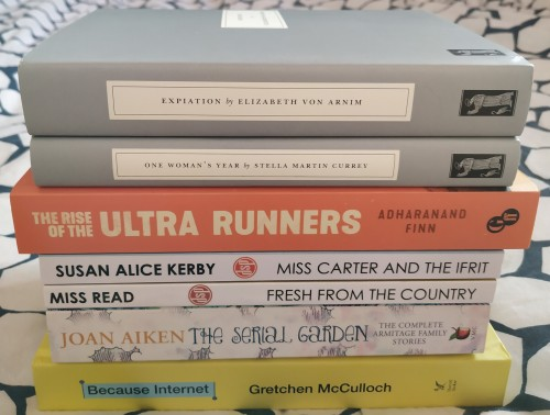 PIle of birthday books