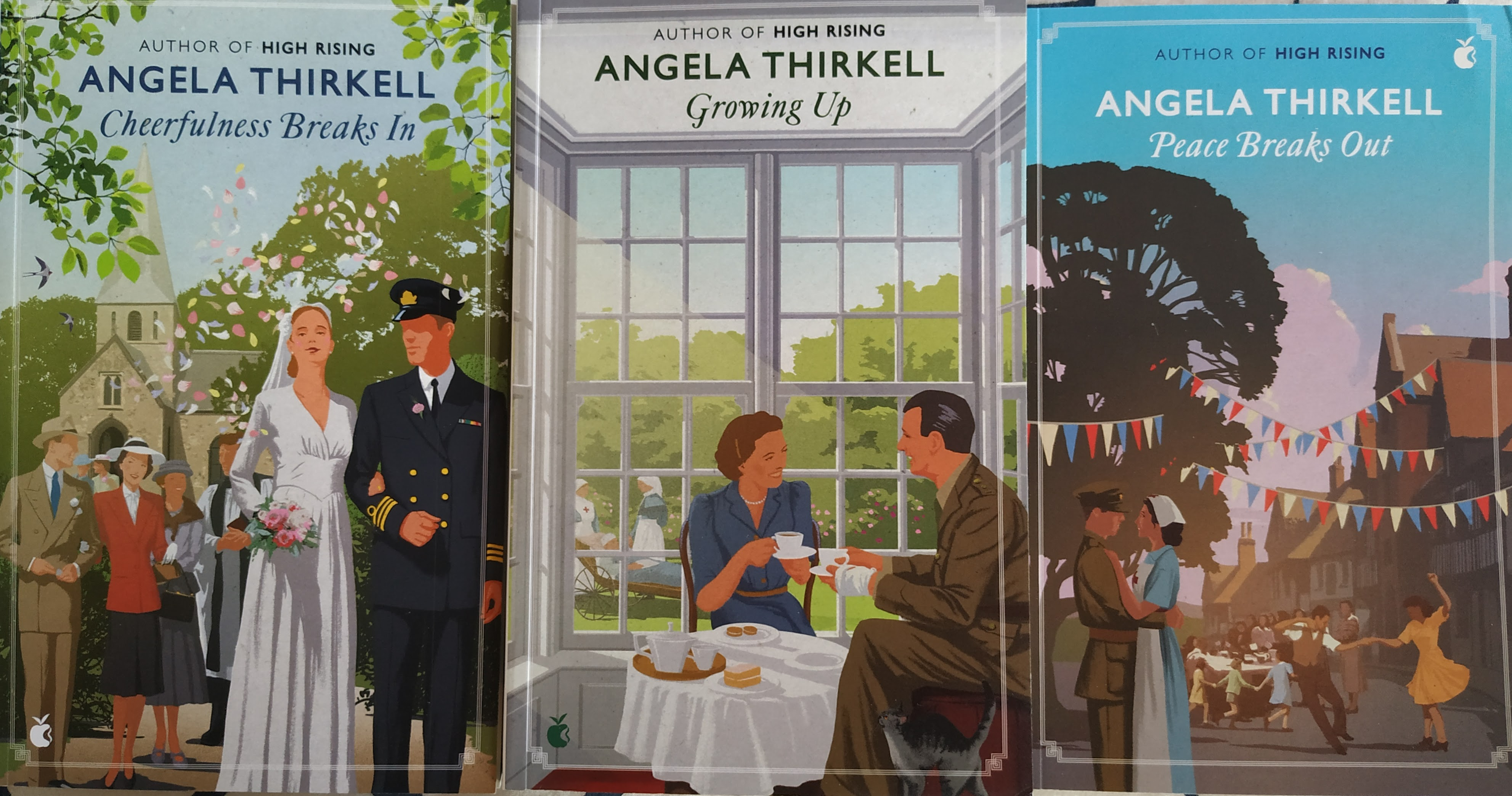 """Book review – Angela Thirkell – """"Cheerfulness Breaks in"""" #20BooksOfSummer20  @ViragoBooks 